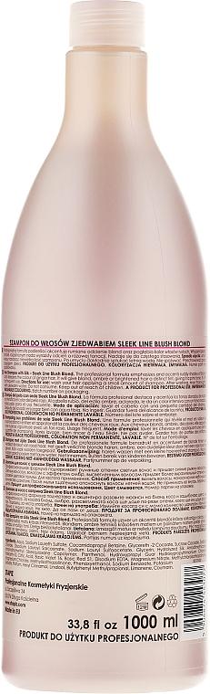 Шампоан за руса коса с розов нюанс - Stapiz Sleek Line Blush Blond Shampoo — снимка N4
