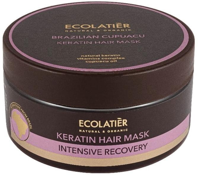 """Кератинова маска за коса """"Бразилско купуасу"""" - Ecolatier Brazilian Cupuacu Mask"""