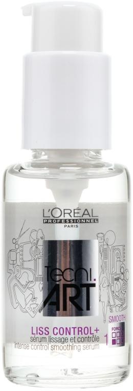 Серум, контролиращ гладкостта на косата - L'Oreal Professionnel Tecni.art Liss Control Plus — снимка N1