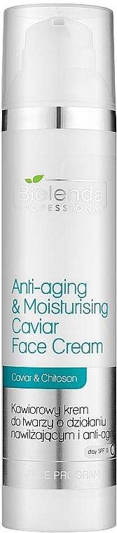 Подмладяващ и успокояващ крем за лице с хайвер - Bielenda Professional Face Program Anti-Aging & Moisturising Caviar Face Cream