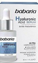 Парфюмерия и Козметика Лифтинг серум за лице с хиалуронова киселина - Babaria Hyaluronic Acid Serum