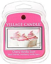 Парфюми, Парфюмерия, козметика Ароматен восък - Village Candle Cherry Vanilla Swirl Wax