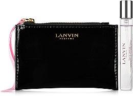 Парфюми, Парфюмерия, козметика Lanvin Jeanne Lanvin - Комплект (edp/7.5ml + mini чанта)