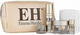 Парфюми, Парфюмерия, козметика Комплект за лице - Emma Hardie Lift & Glow Skin Essential Set (f/balm/50ml + cloth/1pcs + f/cr/15ml + serum/30ml + f/oil/5ml)