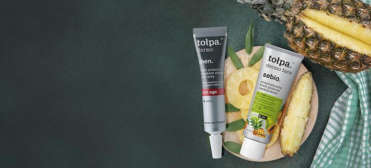 Отстъпка 10% на промоционални продукти за грижа за лице от Tołpa. Посочената цена е след обявената отстъпка