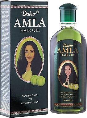 Масло за коса - Dabur Amla Hair Oil (продуктът не е подходящ за светла коса) — снимка N1