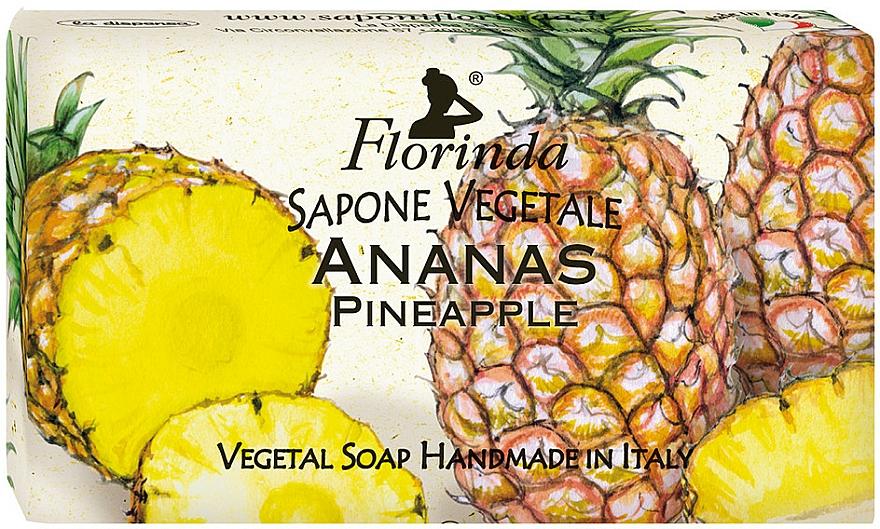 Натурален сапун с ананас - Florinda Pineapple Natural Soap — снимка N1