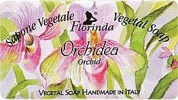 """Парфюми, Парфюмерия, козметика Натурален сапун """"Орхидея"""" - Florinda Sapone Vegetale Vegetal Soap Orchid"""