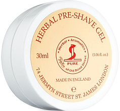 Парфюмерия и Козметика Гел за бръснене - Taylor of Old Bond Street Herbal Pre-Shave Gel