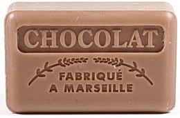 Парфюмерия и Козметика Марсилски сапун с шоколад - Foufour Savonnette Marseillaise Chocolat