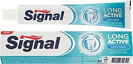 Парфюмерия и Козметика Избелваща паста за зъби - Signal Long Active White Fresh Toothpaste
