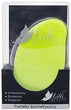 Парфюмерия и Козметика Козметична пемза, зелена - Lilli Beauty
