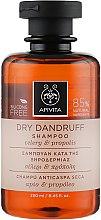 Парфюмерия и Козметика Шампоан против пърхот - Apivita Shampoo For Dry Dandruff With Celery Propolis
