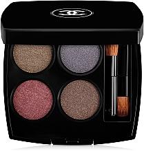 """Парфюмерия и Козметика Сенки за очи """"Много ефекти"""" - Chanel Les 4 Ombres Multi-Effect Quadra Eyeshadow"""