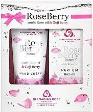 Парфюми, Парфюмерия, козметика Bulgarian Rose Rose Berry - Комплект (parf/roll/9ml + h/cr/75ml)