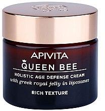 Парфюми, Парфюмерия, козметика Богат крем за лице с защитен комплекс против стареене - Apivita Queen Bee Holistic Age Defence Cream Rich Texture