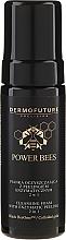Парфюмерия и Козметика Почистваща пяна за лице с ензимен пилинг 2в1 - Dermofuture Power Bees Cleansing Foam 2in1