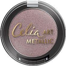 Парфюми, Парфюмерия, козметика Сенки за очи - Celia Art Metallic Eye Shadow