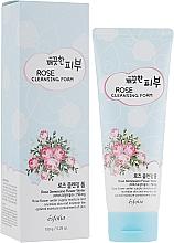 Парфюмерия и Козметика Измиваща пяна за лице - Esfolio Pure Skin Rose Cleansing Foam