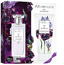 Парфюмерия и Козметика Allverne Iris & Patchouli - Комплект (парф. вода/50ml + лосион за тяло/200ml)