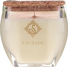 """Парфюмерия и Козметика Ароматна свещ """"Кедров бор"""" - Essencias De Portugal Senses Saudade Pine Cedar Candle"""