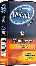 Парфюмерия и Козметика Презервативи, 12 бр. - Unimil Max Love
