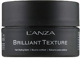 Парфюмерия и Козметика Стилизиращ балсам за коса - L'anza Healing Style Brilliant Texture Balm