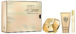 Парфюмерия и Козметика Paco Rabanne Lady Million - Комплект (парф. вода/50 + лосион за тяло/75ml + парф. вода/10ml)