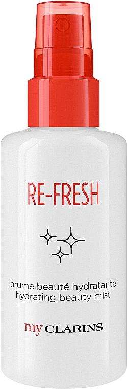 Освежаващ и хидратиращ спрей за лице - Clarins My Clarins Re-Fresh Hydrating Beauty Mist — снимка N1