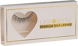 Парфюмерия и Козметика Изкуствени мигли - Lash Brown Premium Silk Lashes Be Natural