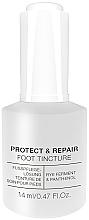 Парфюмерия и Козметика Антибактериална тинктура за педикюр - Alessandro International Spa Protect & Repair Foot Tincture