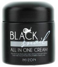 Парфюми, Парфюмерия, козметика Крем за лице с екстракт от черен охлюв - Mizon Black Snail All In One Cream