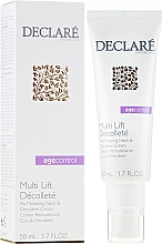 Парфюмерия и Козметика Ремоделиращ крем за шия и деколте - Declare Age Control Multi Lift Decollete Re-Modeling Neck