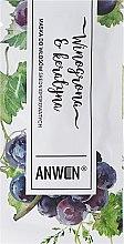Парфюмерия и Козметика Маска за коса със средна порьозност - Anwen Medium-Porous Hair Mask Grapes and Keratin (мостра)