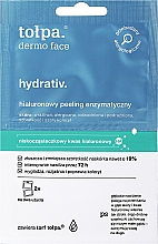 Парфюмерия и Козметика Пилинг маска за лице - Tolpa Dermo Face Hydrativ Moisturizing Mask-Peeling Removes