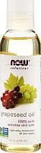 Парфюмерия и Козметика Масло от гроздови семки, за кожа - Now Foods Solutions Grapeseed Oil