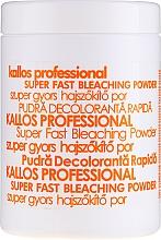 Парфюмерия и Козметика Изсветляващ прах за коса - Kallos Cosmetics Powder For Hair Bleaching