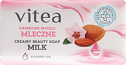 Парфюми, Парфюмерия, козметика Крем-сапун с бадемово масло - Vitea Cream Soap
