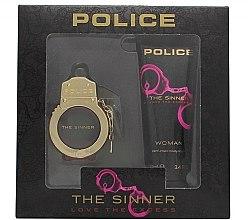 Парфюми, Парфюмерия, козметика Police The Sinner Love The Excess Woman - Комплект (тоал. вода/30ml + лосион за тяло/100ml)