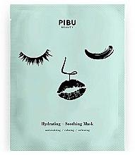 Парфюми, Парфюмерия, козметика Успокояваща и хидратираща маска за лице - Pibu Beauty Hydrating-Soothing Mask