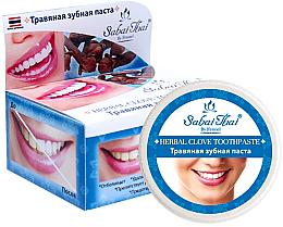 Парфюмерия и Козметика Билкова паста за зъби с карамфил - Sabai Thai Herbal Clove Toothpaste
