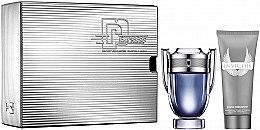 Парфюмерия и Козметика Paco Rabanne Invictus - Комплект (тоал. вода/100ml + душ гел/100ml)