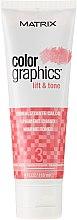 Парфюми, Парфюмерия, козметика Освежаващ тонер за коса (с топъл нюанс) - Matrix Color Graphics Lift & Tone Warm Toner