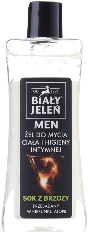 Мъжки хипоалергенен гел за тяло и интимна хигиена 2в1 - Bialy Jelen Hypoallergenic Body Gel and Intimate Hygiene 2in1