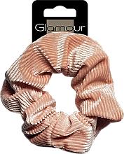 Парфюмерия и Козметика Ластик за коса, 417672, кафява - Glamour
