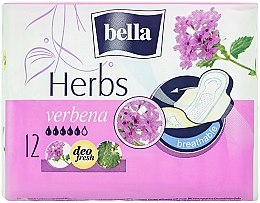 Парфюмерия и Козметика Дамски превръзки Panty Herbs Verbena, 12 бр. - Bella