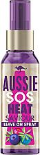 Парфюмерия и Козметика Спрей за коса без отмиване - Aussie Sos Hear Saviour Leave on Spray