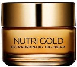 Парфюми, Парфюмерия, козметика Крем-масло за лице - L'Oreal Paris Nutri Gold Extraordinary Oil-Cream
