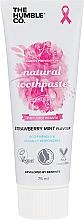 Парфюмерия и Козметика Натурална паста за зъби с ягода и мента - The Humble Co. Natural Toothpaste Strawberry Mint