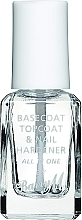 Парфюмерия и Козметика Мултифункционален продукт за нокти - Barry M All In One Nail Paint